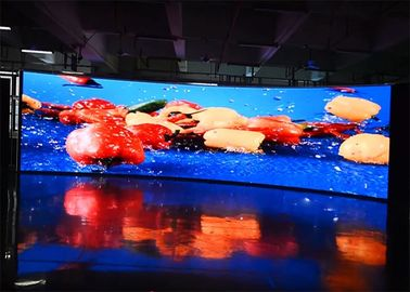 RGB Full Color Indoor Rental LED Display With Super Slim Light Weight Cabinet