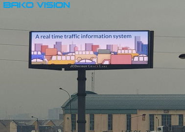 P5/P6/P8/P10 Outdoor Fixed Digital Advertising Signage LED Commercial Billboard Display