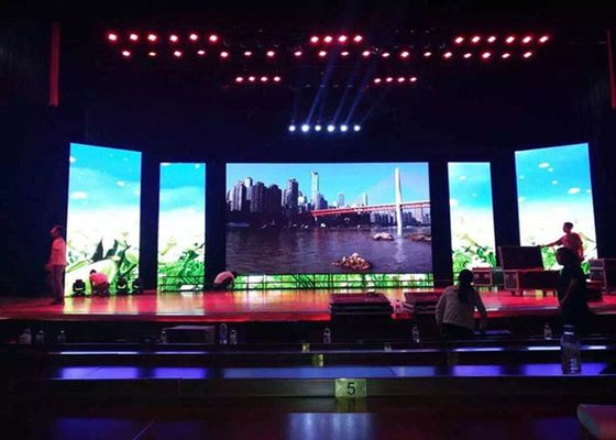 Full Color P3.91 Indoor Rental LED Display Screen For Stage Performance
